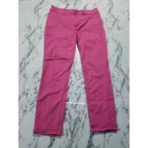 💘 American Eagle Pink Hi Rose Jegging Crops